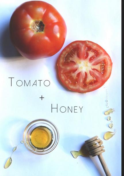 cách trị nắm bằng mật ong và cà chua