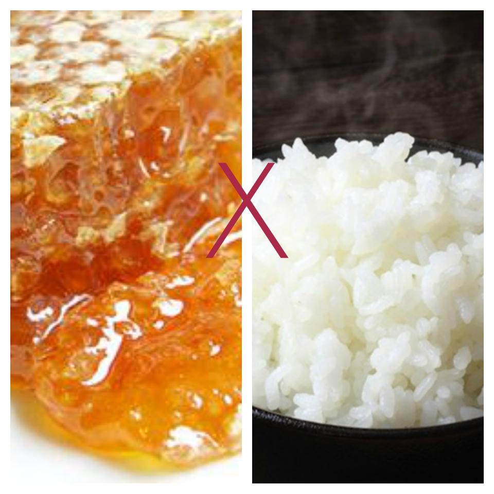 mật ong kỵ gì - mật ong kỵ với cơm