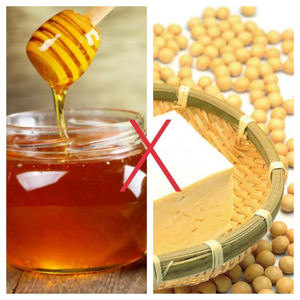 mật ong kỵ gì - mật ong kỵ đậu phụ