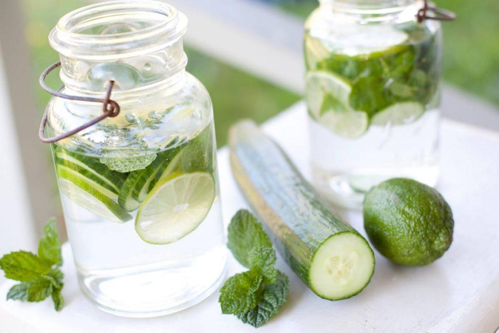 tự làm nước detox giảm cân thanh lọc cơ thể