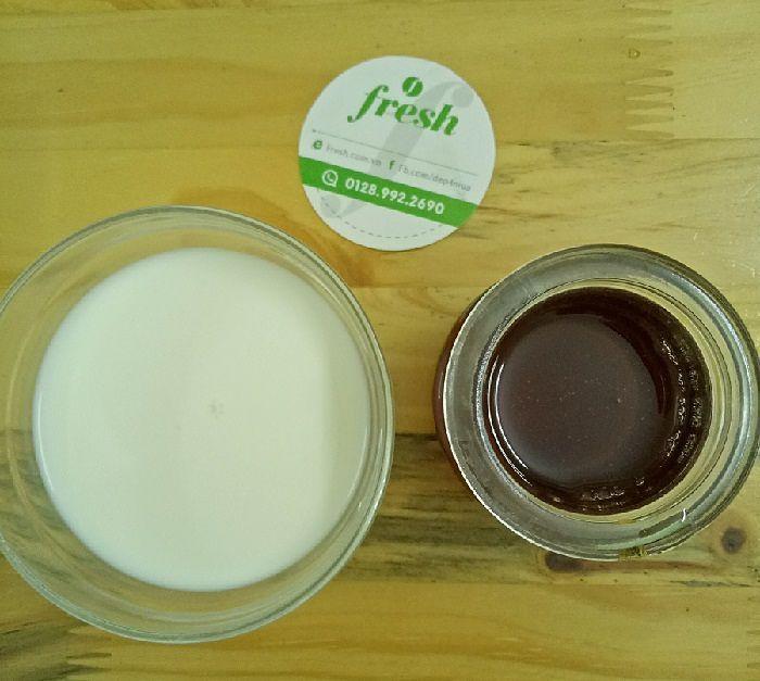 5 lợi ích tuyệt vời của mặt nạ mật ong sữa 3