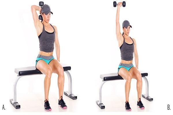các bài tập giảm mỡ bắp tay hiệu quả 6