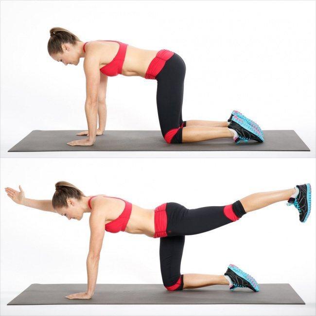 7 bài tập thể dục tại nhà giúp thay đổi vóc dáng của bạn trong 4 tuần 5