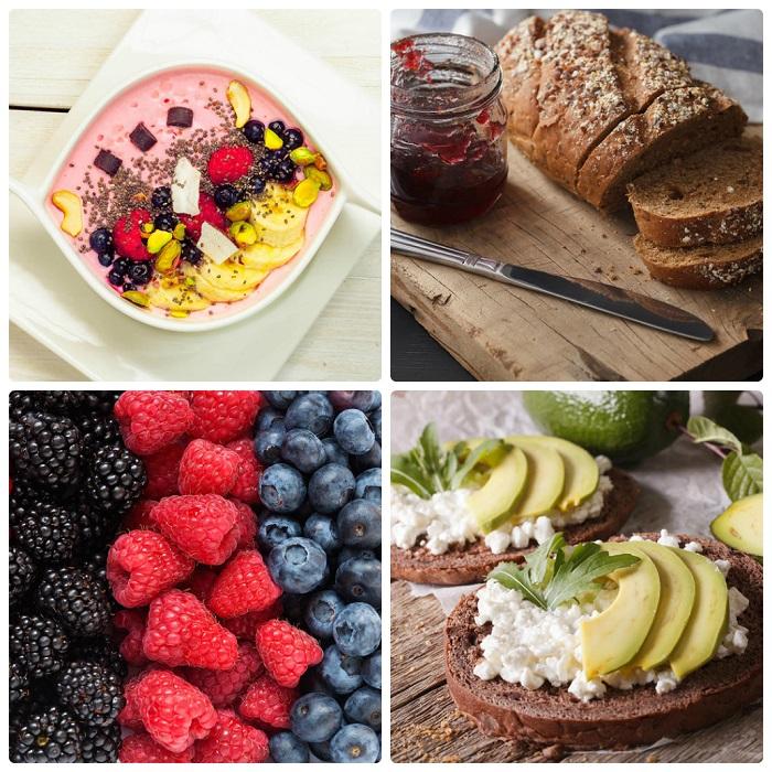 thực đơn các món ăn sáng lành mạnh