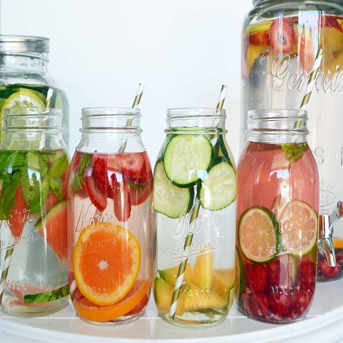 các công thức nước detox