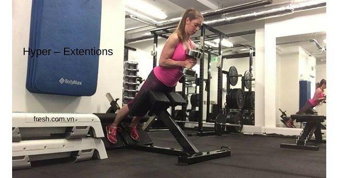 bài tập mông nở Hyper – Extentions