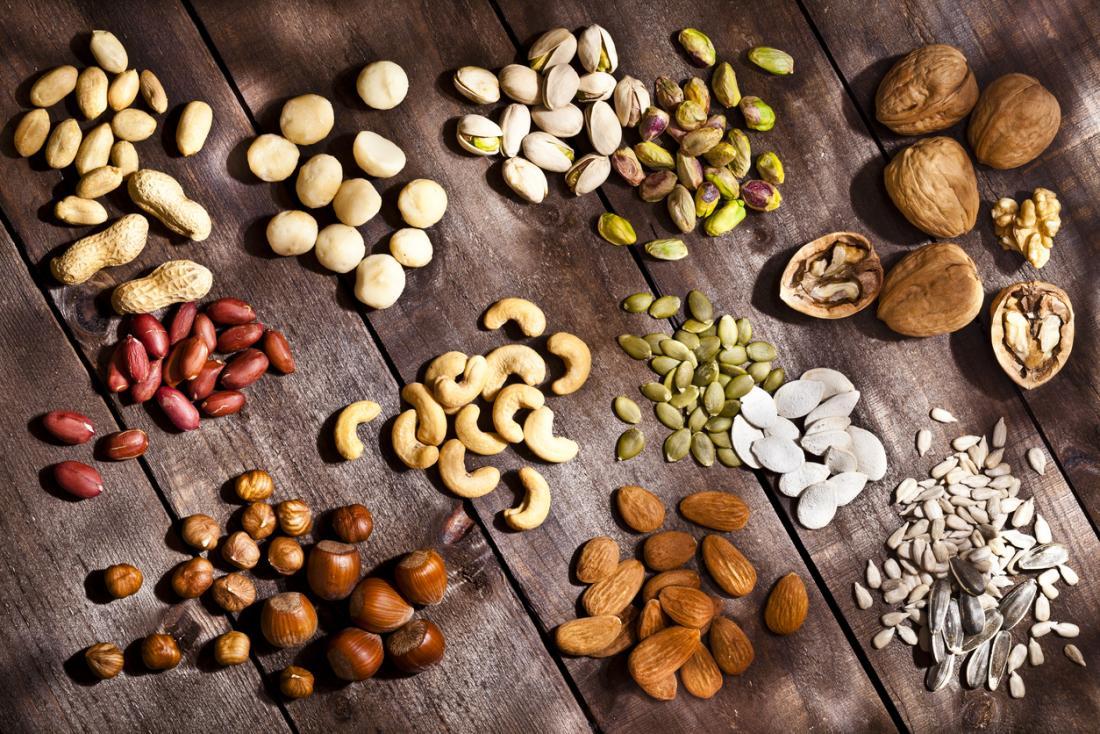 các loại hạt thực phẩm tốt cho gan