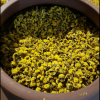 bình gốm ủ trà hoa cúc