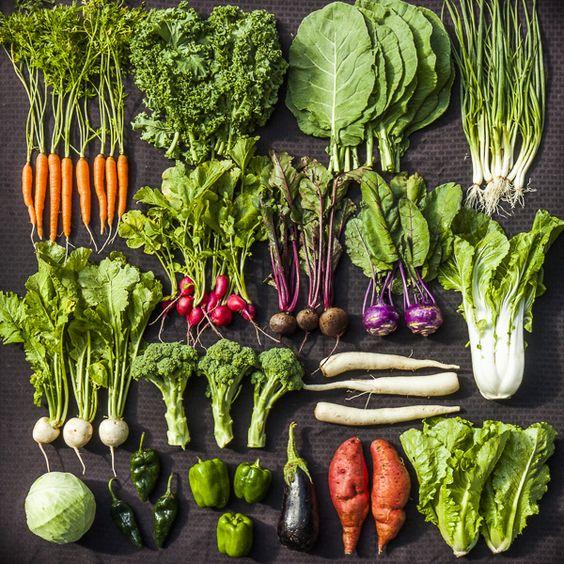 ăn nhiều rau xanh củ quả tươi sạch chính là thực phẩm tốt nhất cho mẹ bầu hạn chế mụn viêm fresh