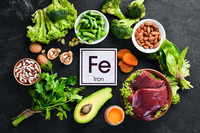 nguồn thực phẩm giàu chất sắt