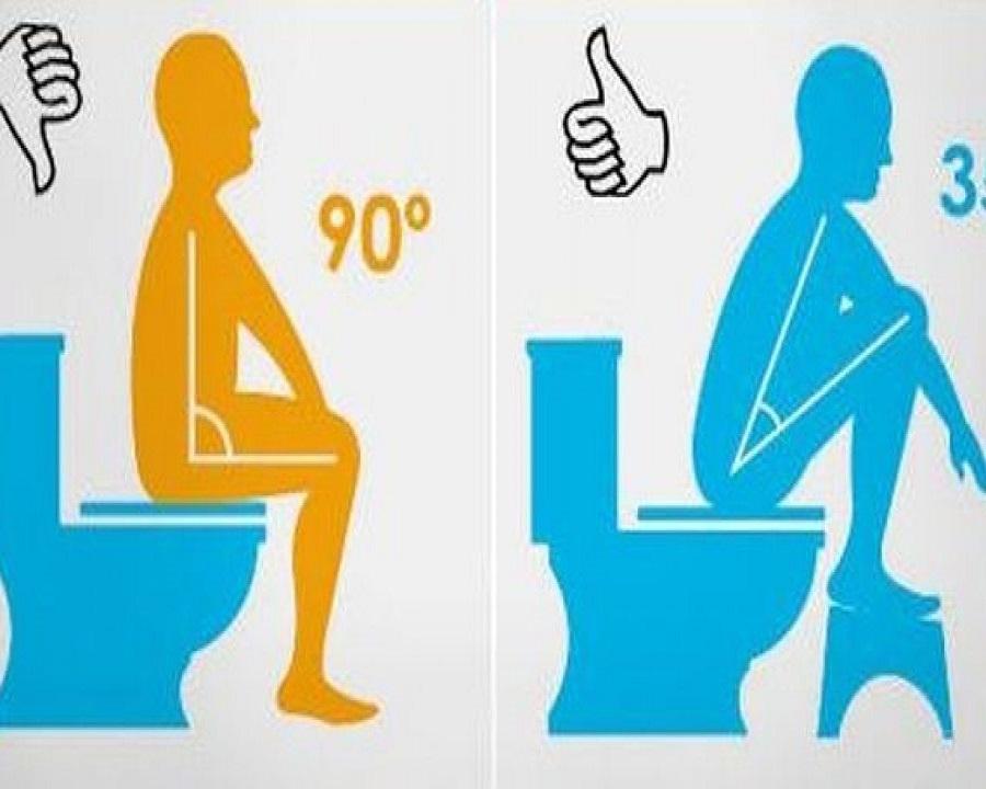 tư thế đi vệ sinh đúng tránh táo bón hiệu quả